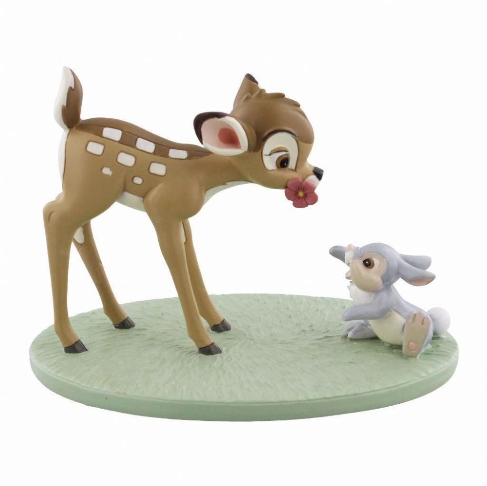 Disney Figurine Gift Magical Moments Bambi and Thumper 'Special Friends' Ornament Collectable